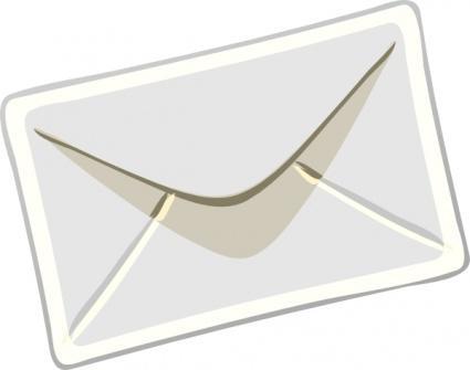 Love letter envelope clipart 2