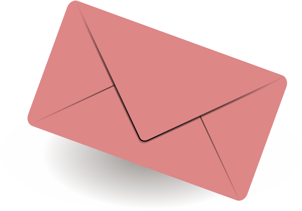 Mail envelope clip art at vector clip art