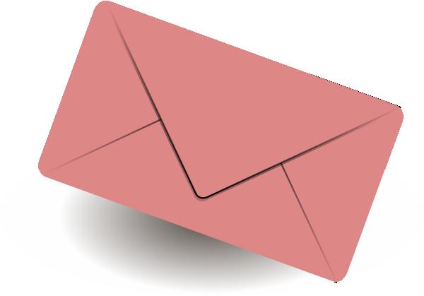 Mail envelope clip art at vector clip art