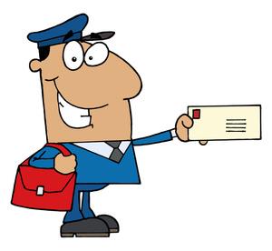 Mail letter clipart clipartfest