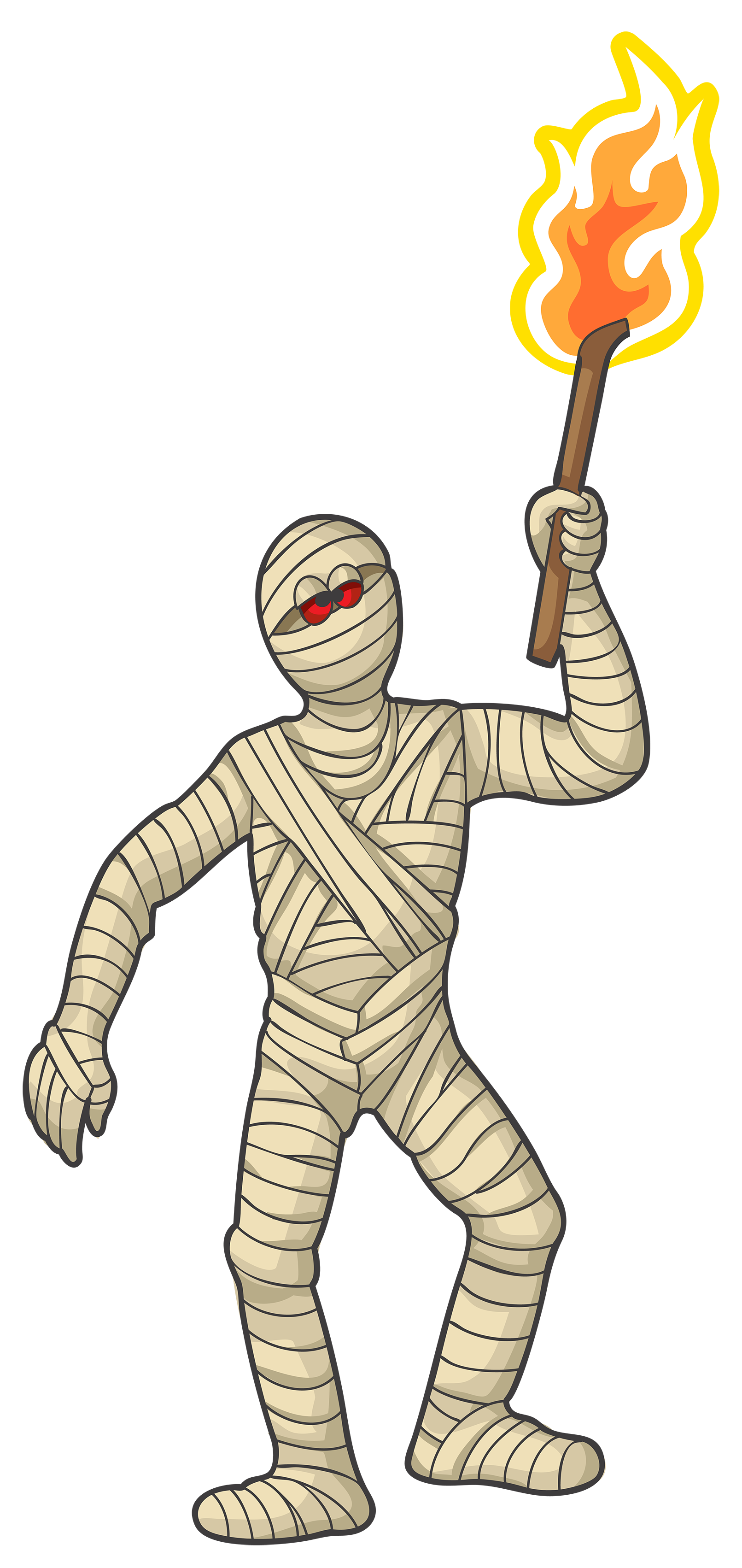 Mummy clip art the cliparts