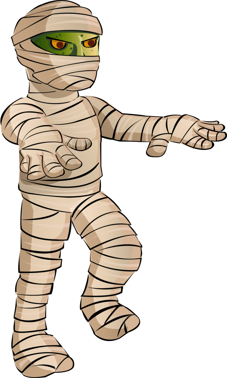 HALLOWEEN coloring pages - 364 printables to color Mummy pictures to color