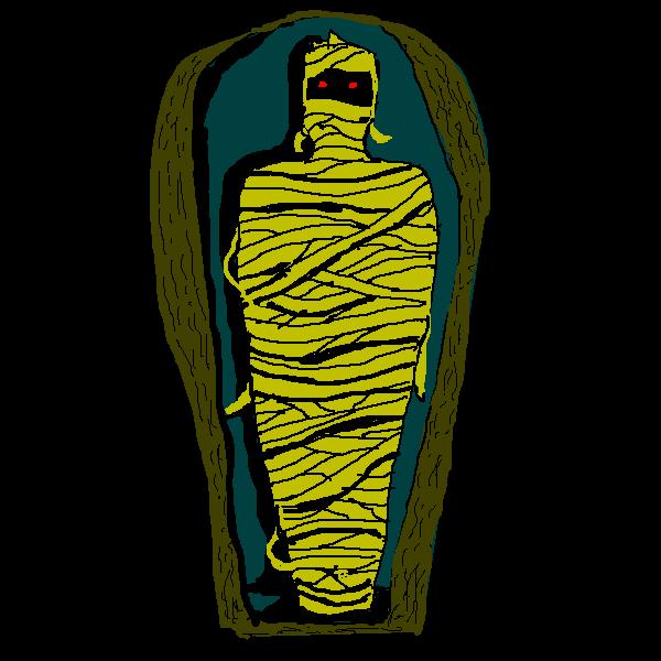 Mummy clipart image 2