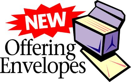 Offering envelope clipart