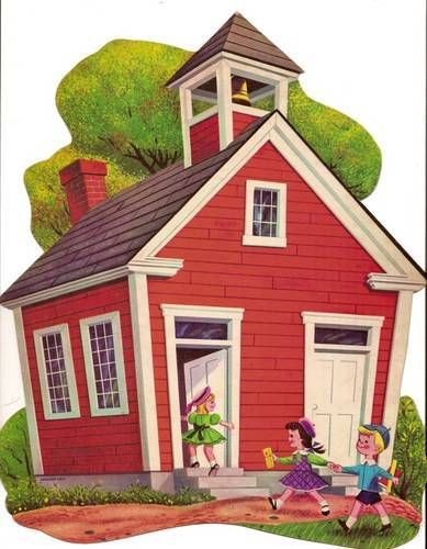 One room schoolhouse clip art clipartfest