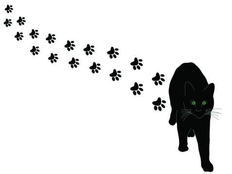 Paw prints cat paw print clip art tumundografico