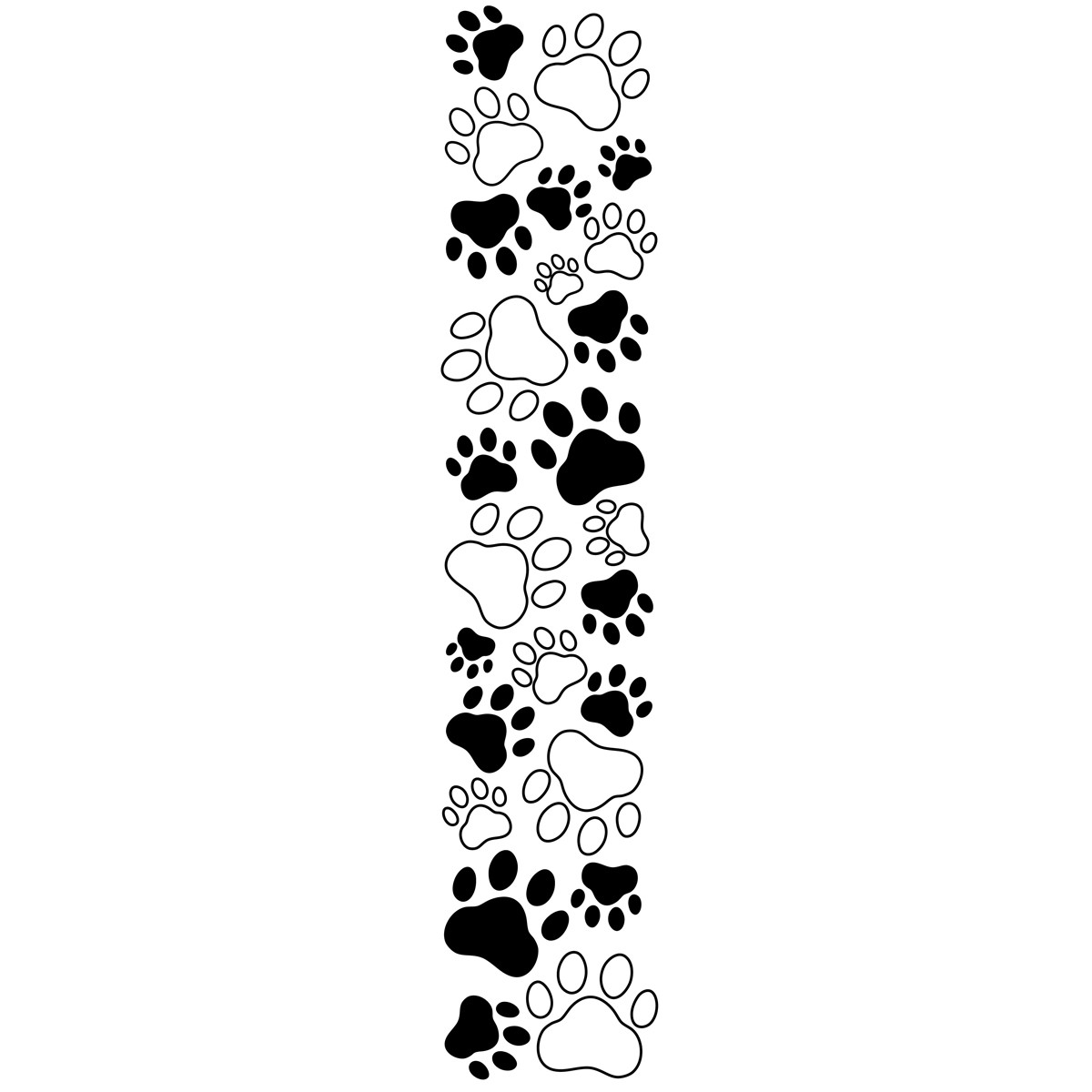 Paw prints free clipart paw print clipartfest