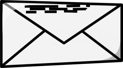 Picture envelope clipart