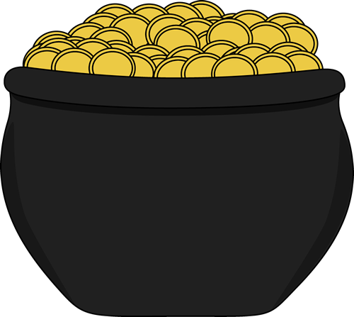 Pot of gold clipart no background clipartfest