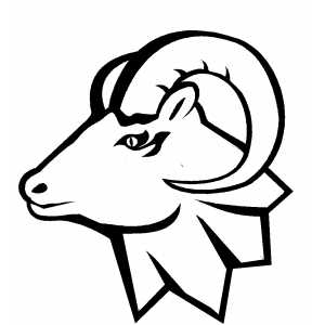 Ram head clip art clipart
