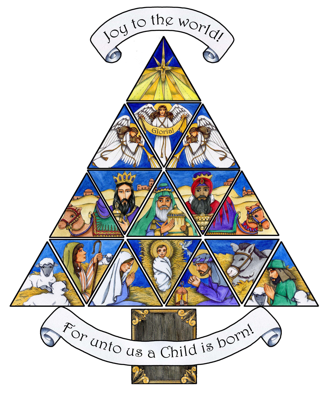 Religious advent clip art 2