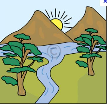 River clipart 9