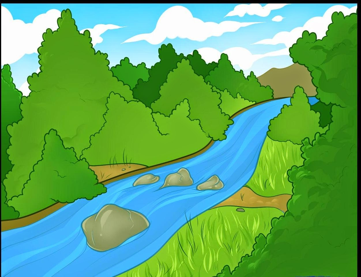 River clipart free images