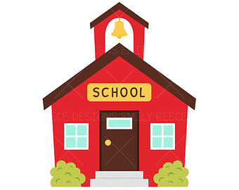 School house clipart 2