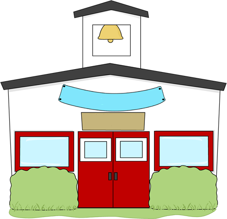 School house schoolhouse clip art
