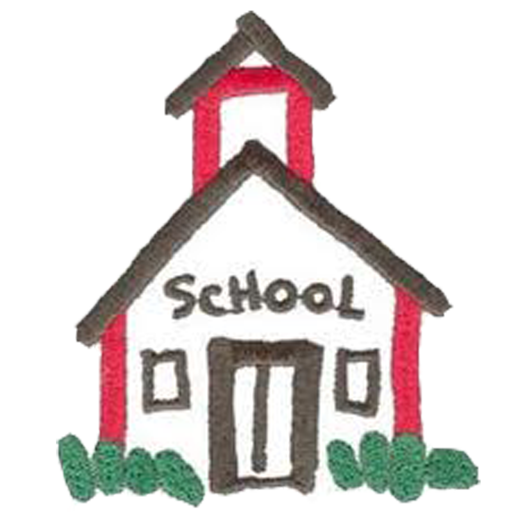 School house schoolhouse clipart