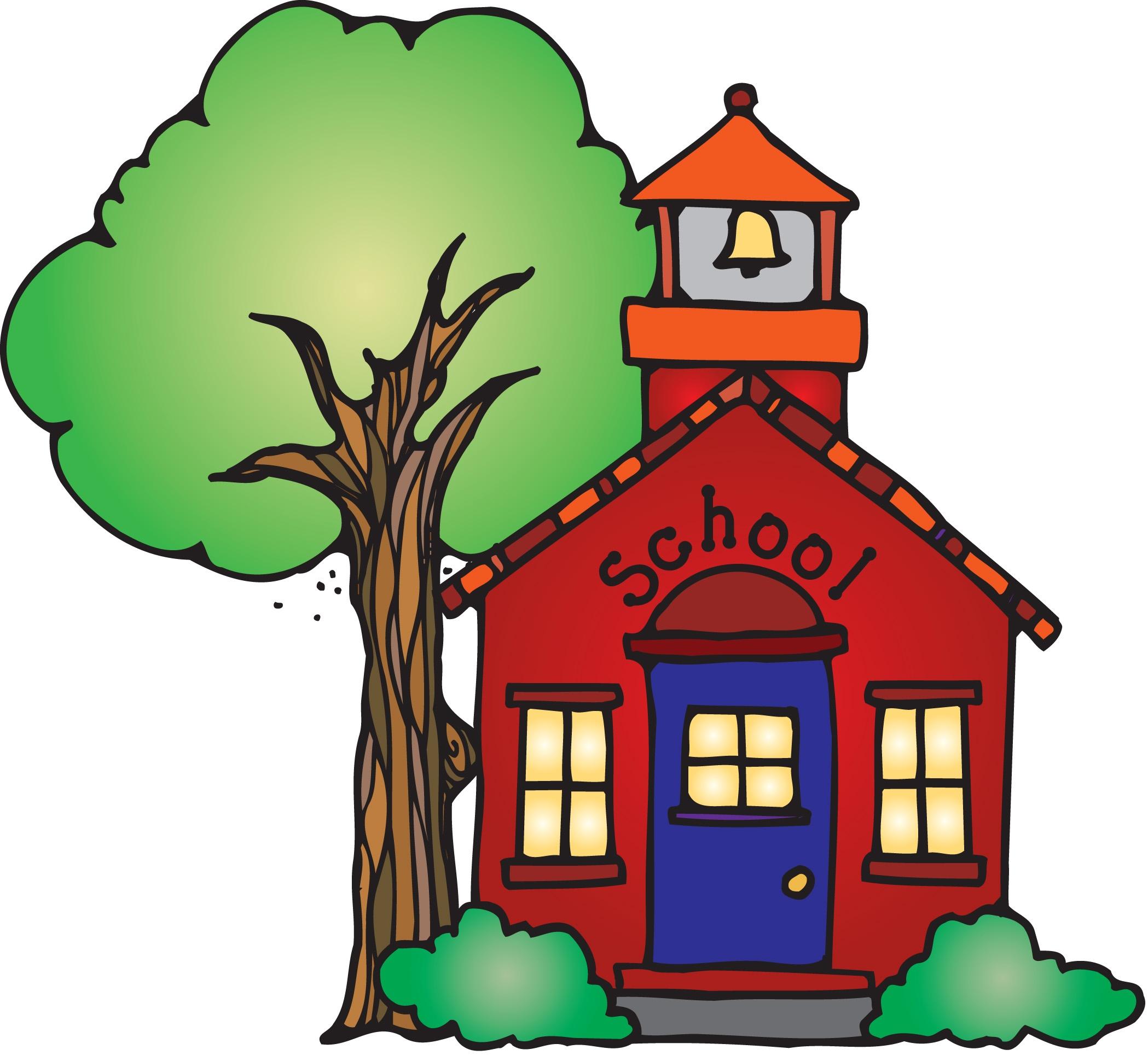 Schoolhouse clipart 2