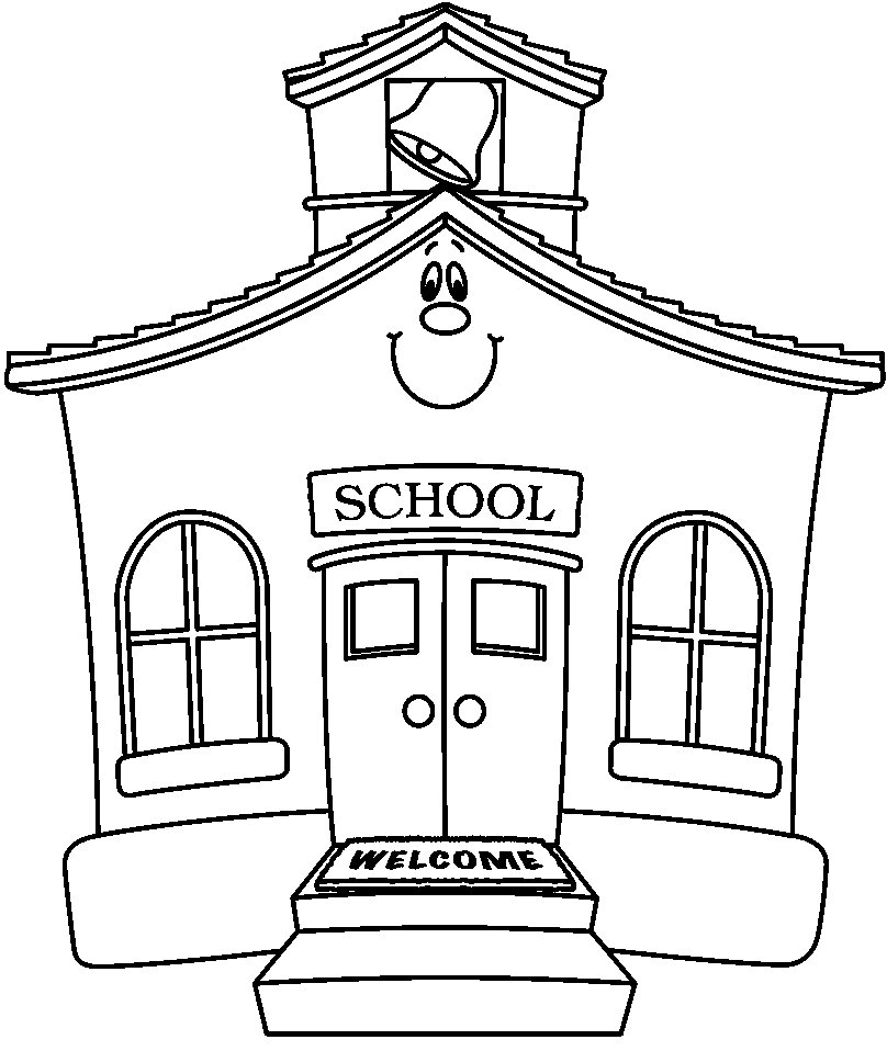 Schoolhouse old school house clipart 4