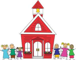 Schoolhouse old school house clipart
