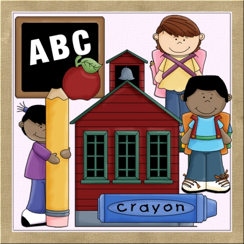 Schoolhouse Clipart - 60 cliparts