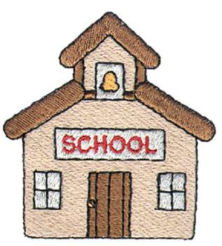 Schoolhouse school house clipart free images 3