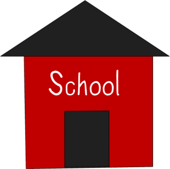 Schoolhouse school house clipart simple clipartfest