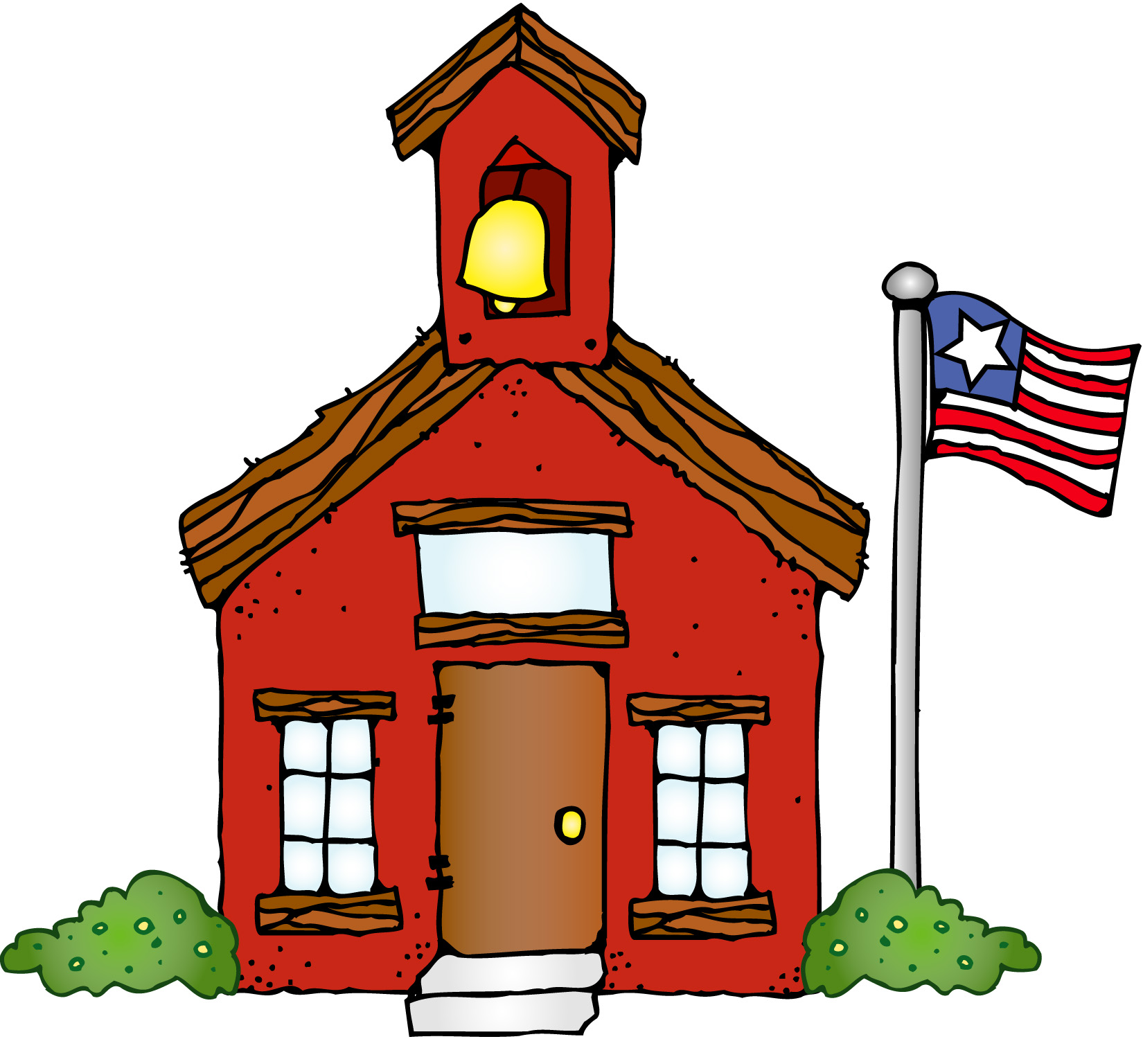 Schoolhouse school house images free clipart 4
