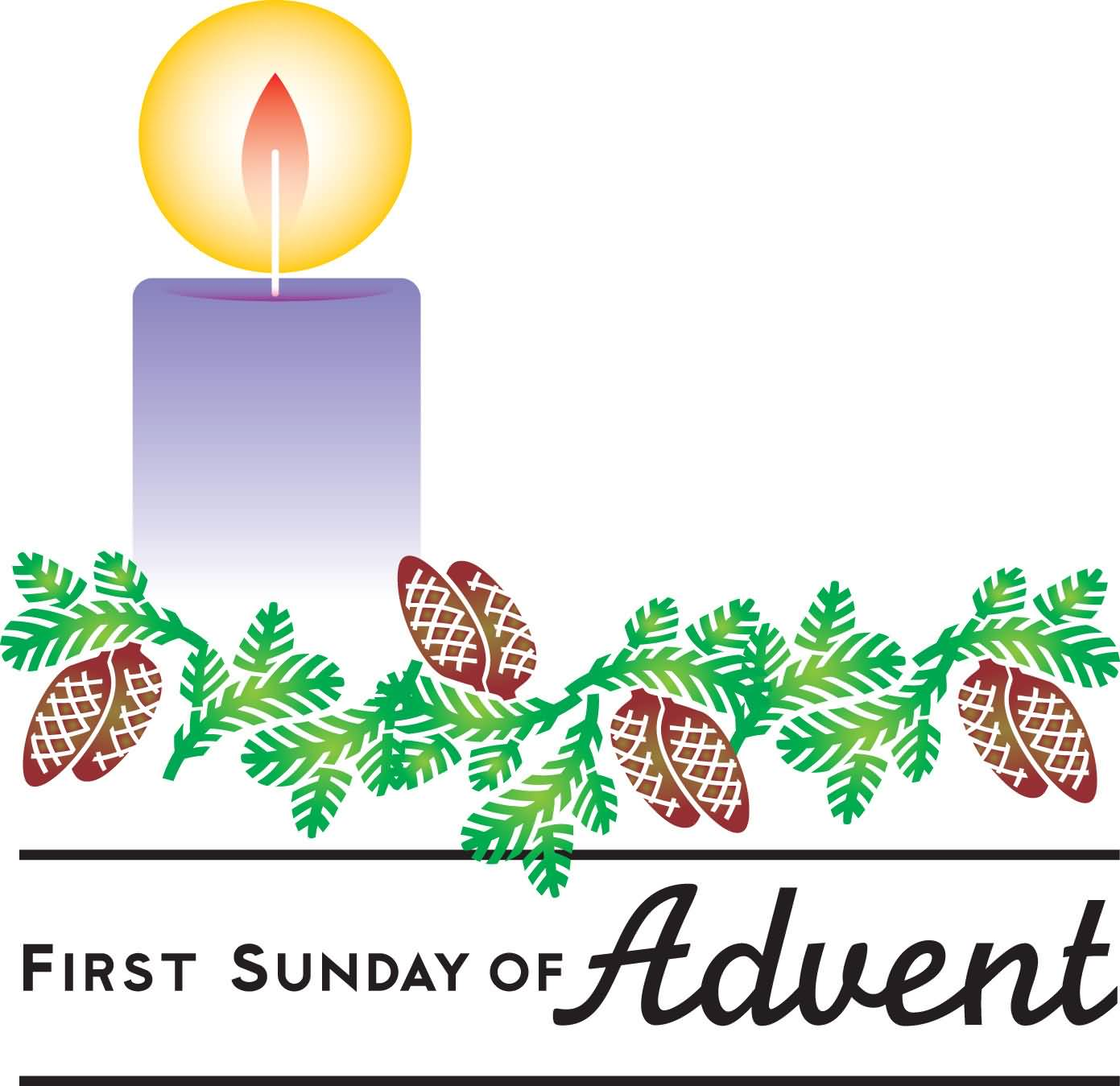 Second sunday of advent clipart