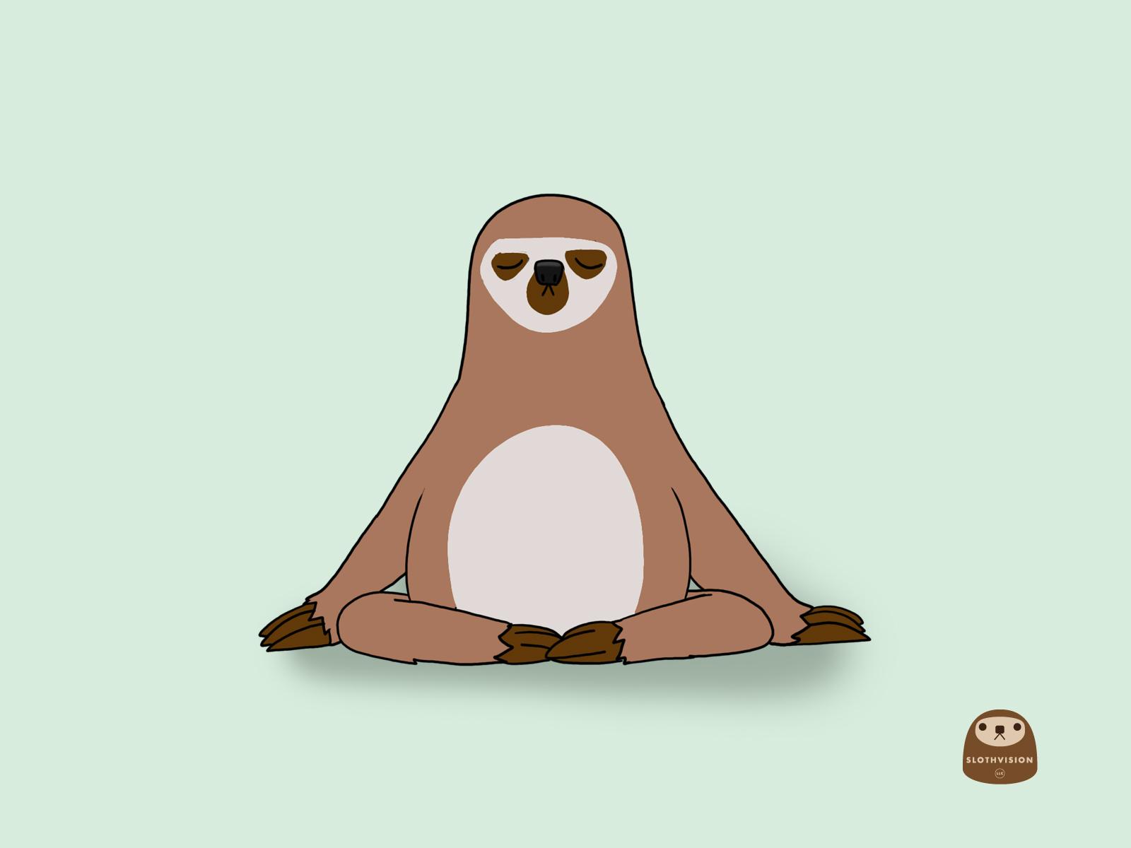 Sloth family clip art clipart animal clipart