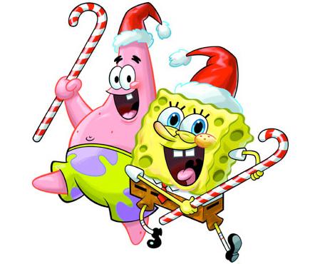 Spongebob christmas clipart clipartfest