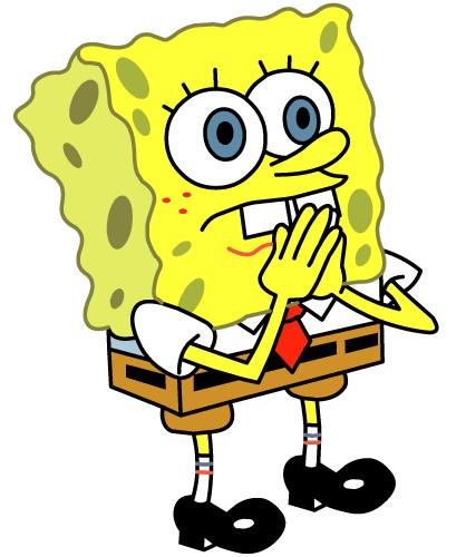Spongebob clip art 3