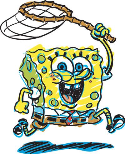 Spongebob clip art 8