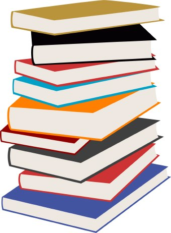 Stack of books clipart free images 6