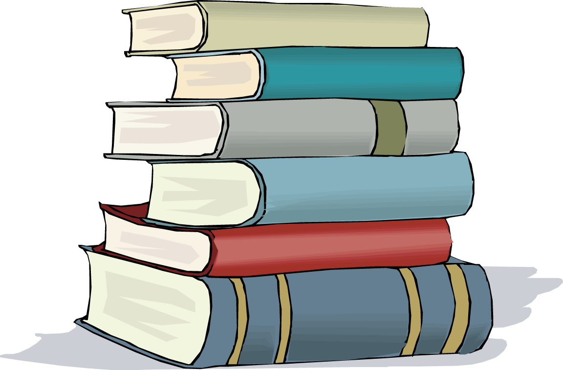 Stack of books clipart free images