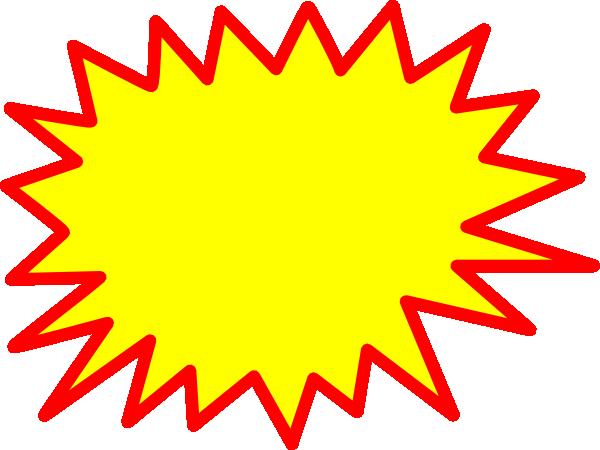 Starburst clip art outline free clipart images 5