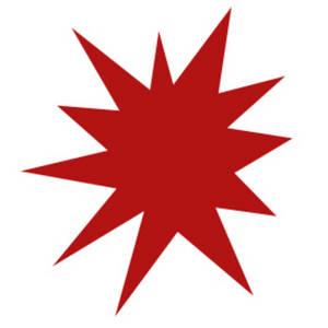 Starburst clipart 2 2