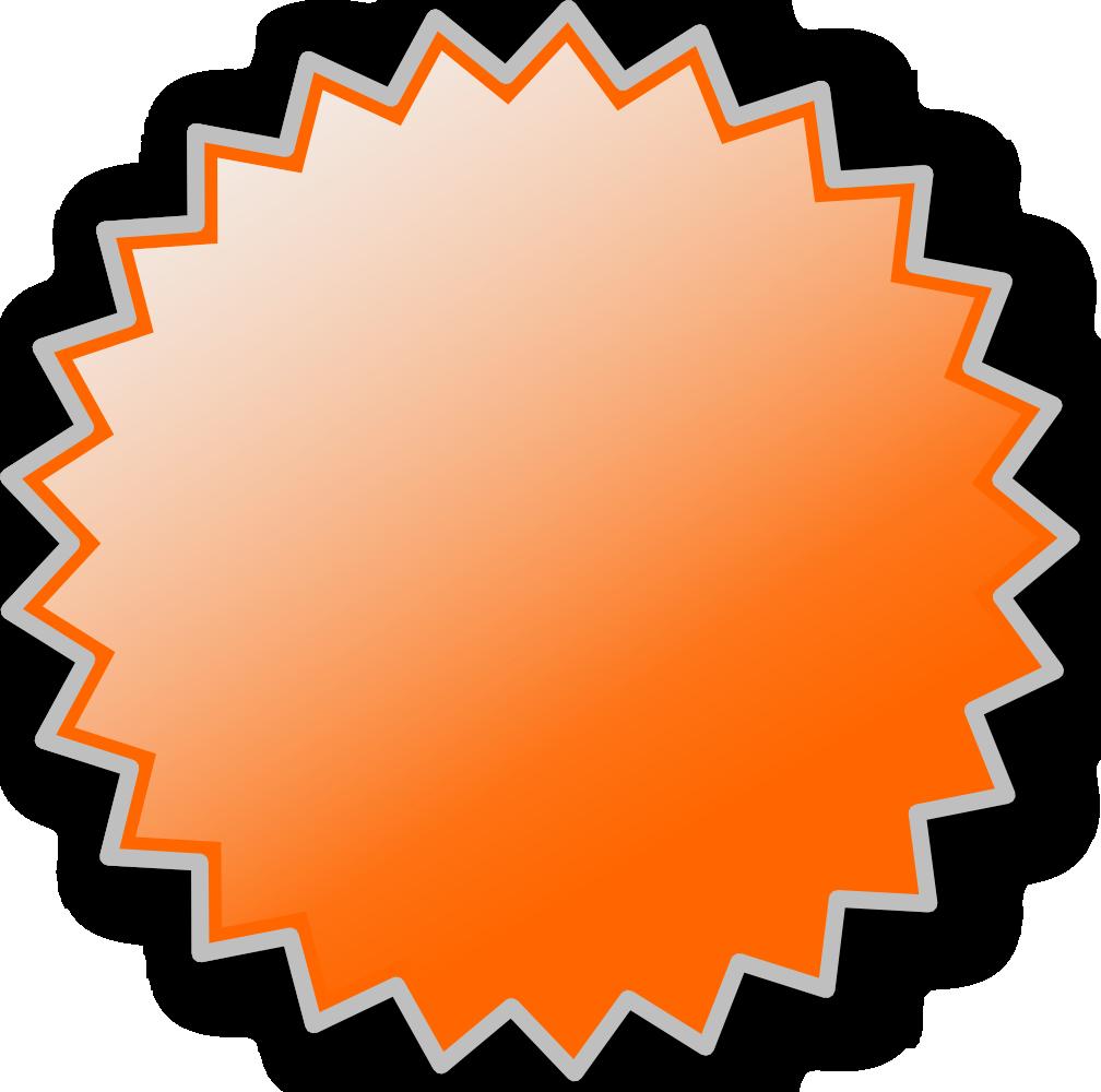 Starburst clipart 3