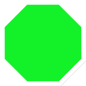 Stop sign clip art 3