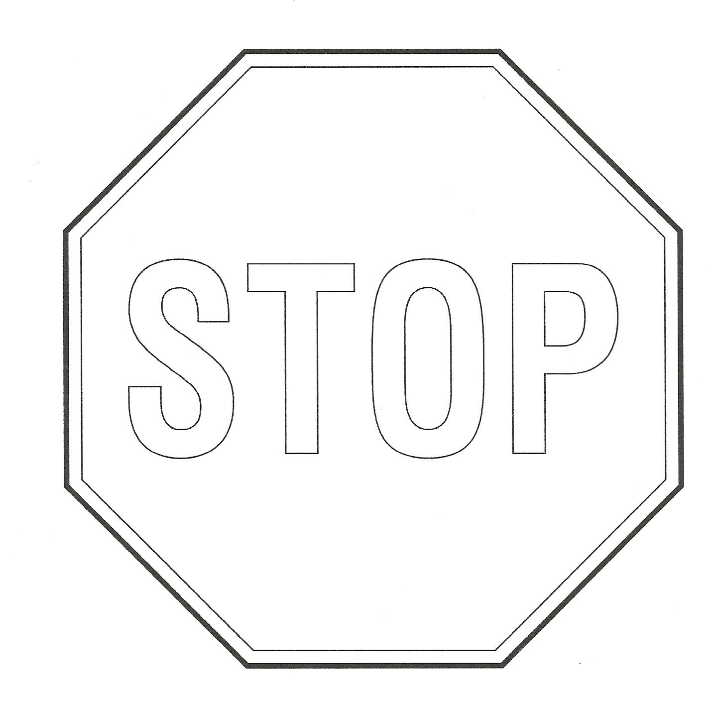 Stop sign clip art at vector 2