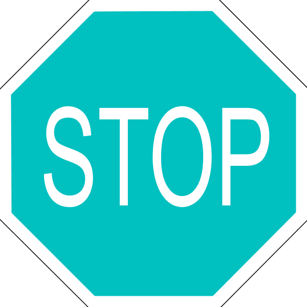 Stop sign clipart images 0