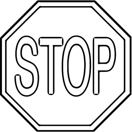 Stop sign template printable free download clip art