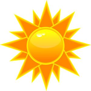 Sunny clipart 4
