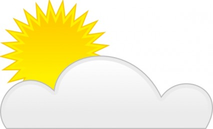 Sunny clipart 5
