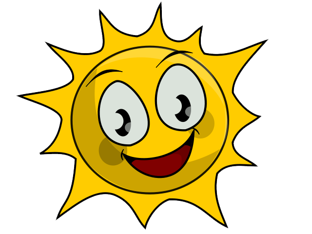 Sunny day clipart 2