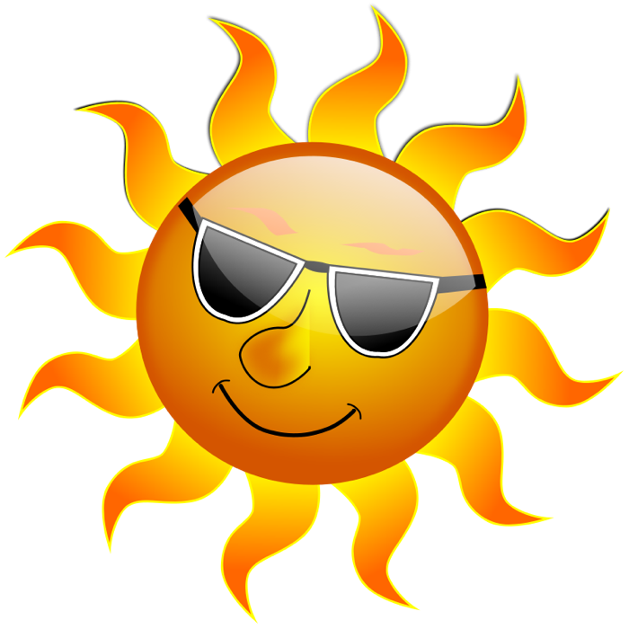 Sunny weather clipart free images 4