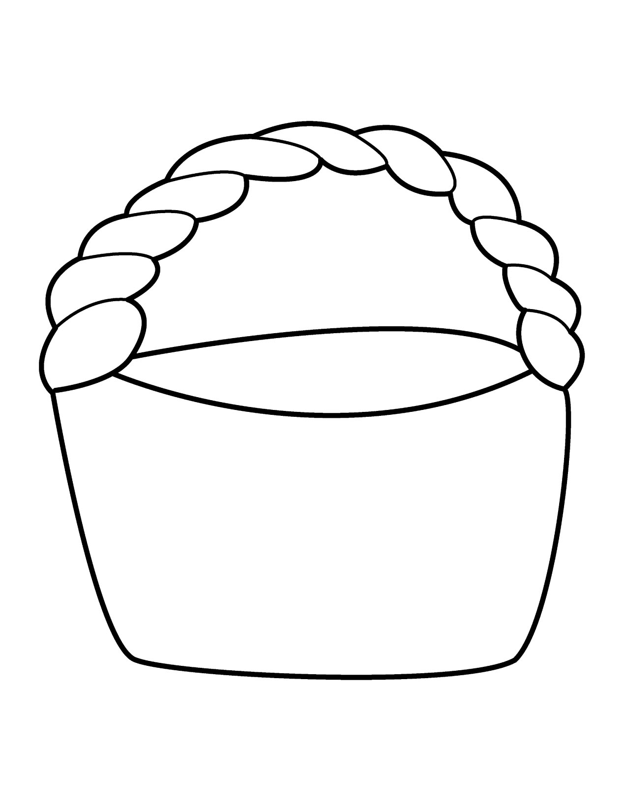 T basket clipart free images 4