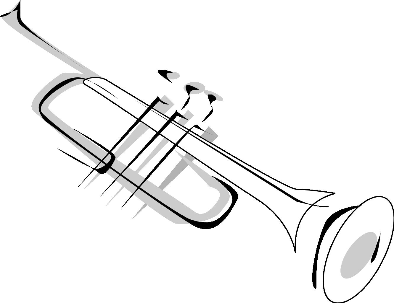 Trumpet clip art clipart 2