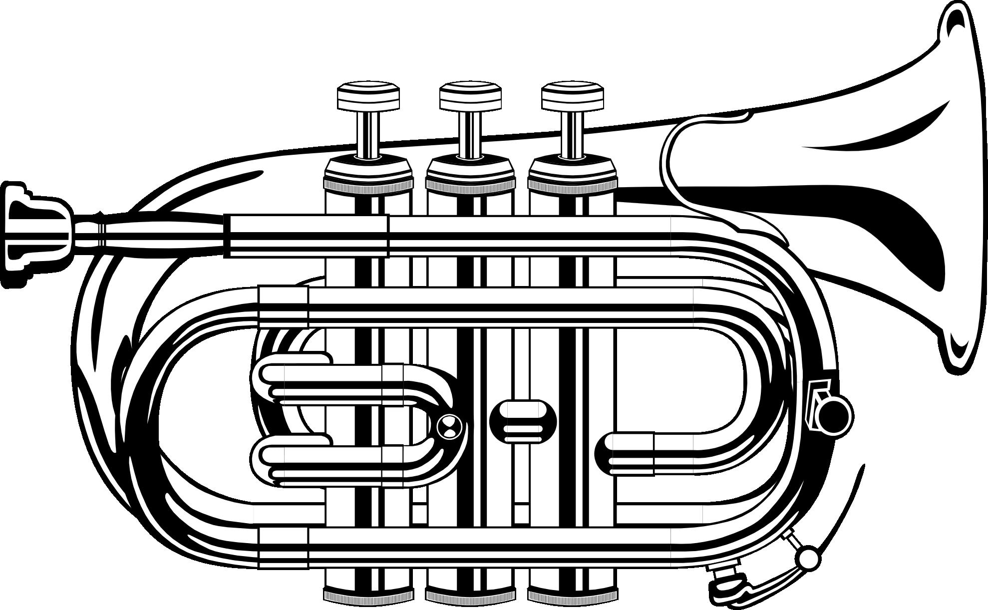 Trumpet clip art clipart