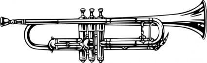 Trumpet clip art download clip arts page 1