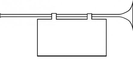 Trumpet clipart 2 image